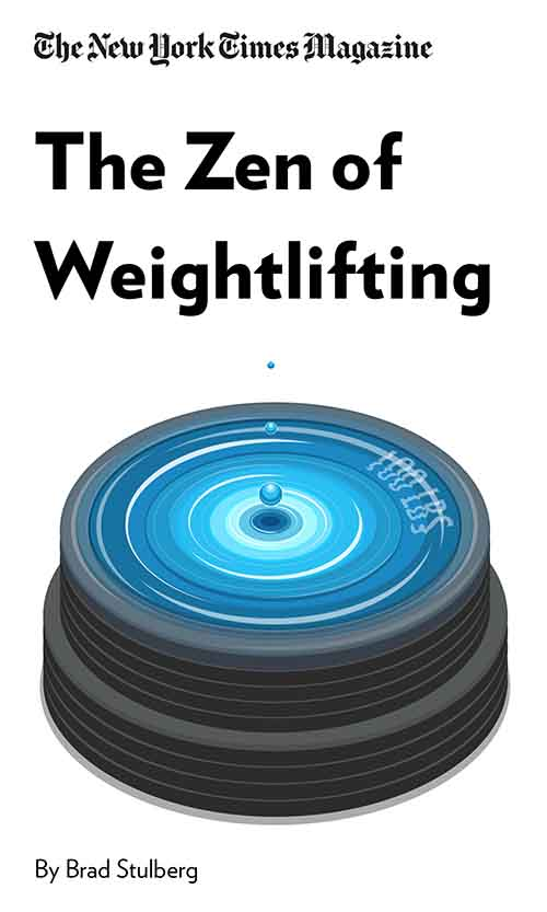 "Book Cover for ""The Zen of Weightlifting"""