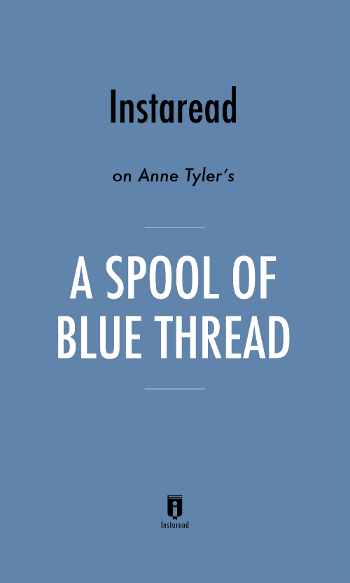 "Book Cover for ""A Spool of Blue Thread"""