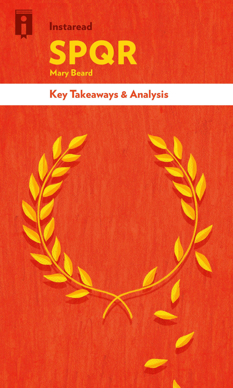 "Book Cover for ""SPQR"""