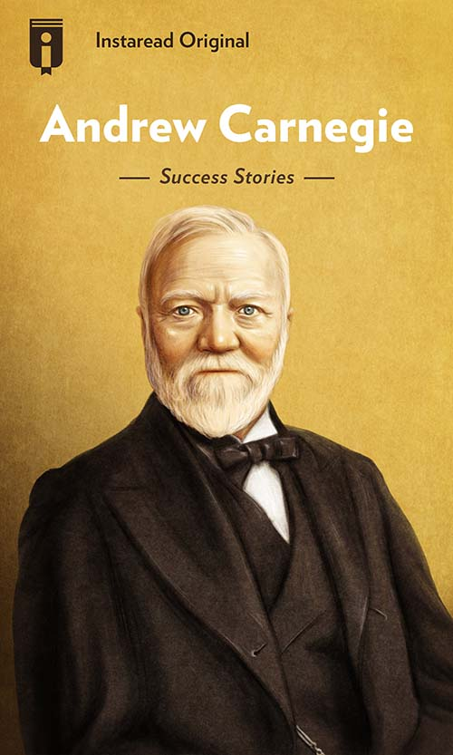 "Book Cover for ""Andrew Carnegie"""