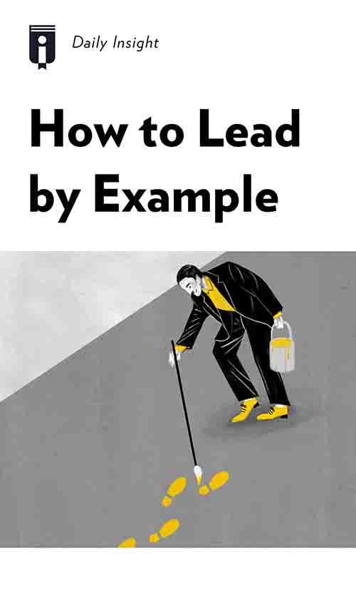 "Book Cover for ""How to Lead by Example"""