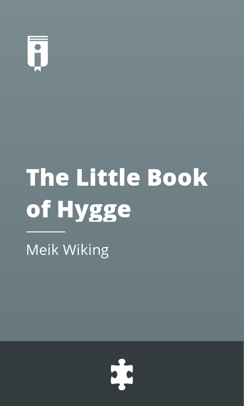 """Book Cover for """"The Little Book of Hygge"""""""