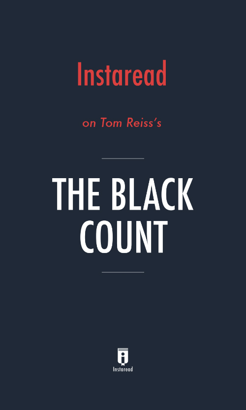 "Book Cover for ""The Black Count"""