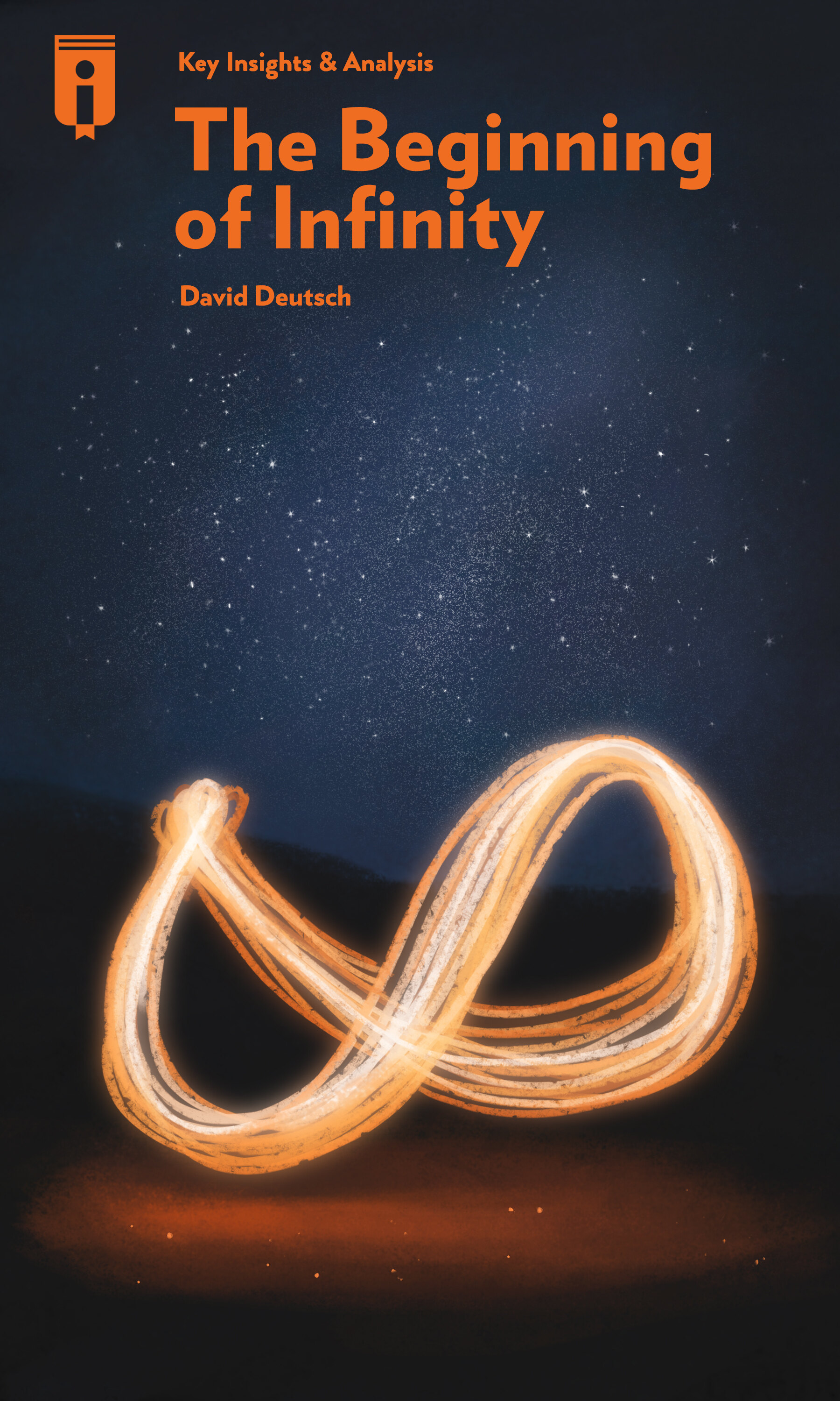"""Book Cover for """"The Beginning of Infinity"""""""