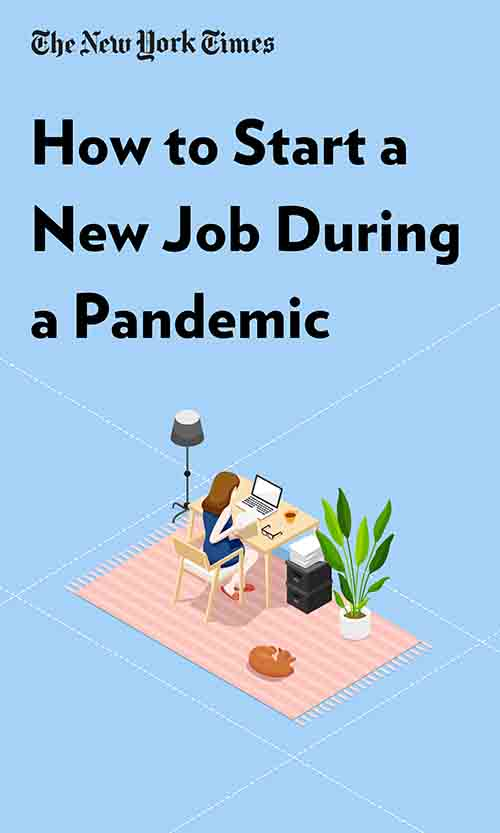 "Book Cover for ""How to Start a New Job During a Pandemic"""