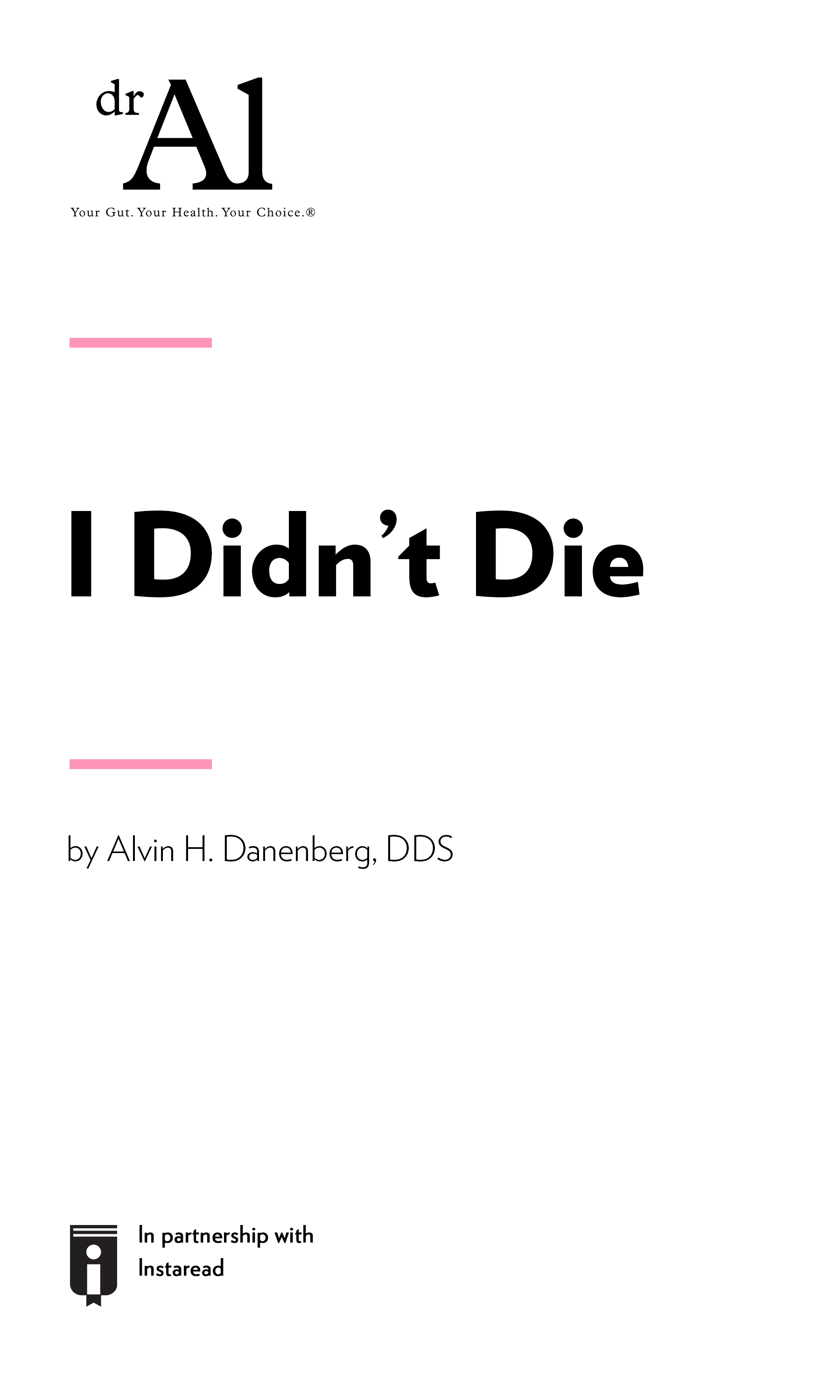"""Book Cover for """"I Didn't Die"""""""