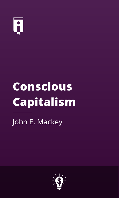 """Book Cover for """"Conscious Capitalism"""""""