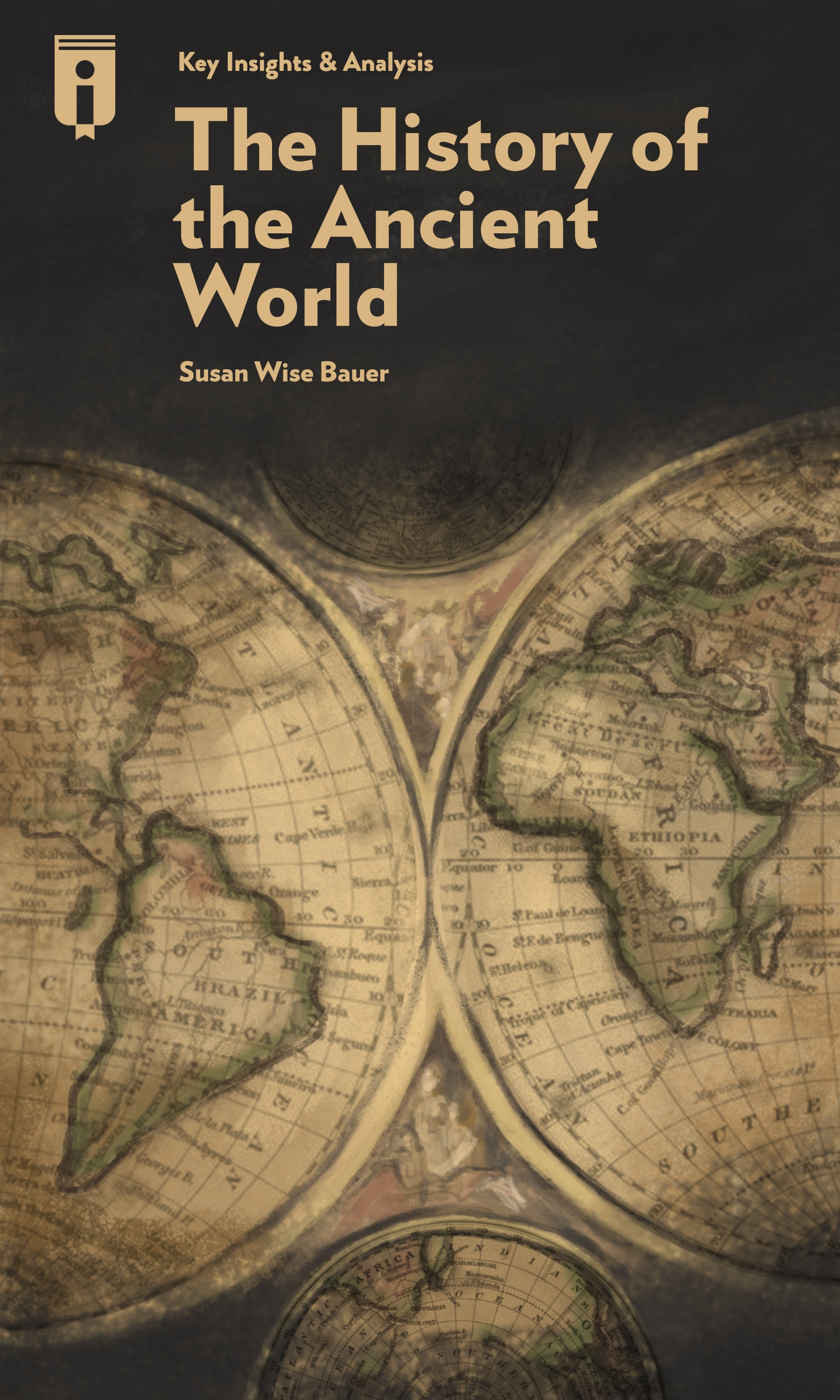 """Book Cover for """"The History of the Ancient World"""""""