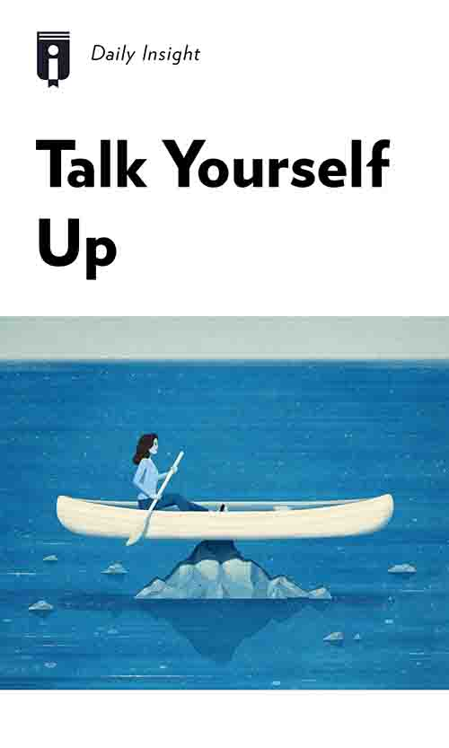 "Book Cover for ""Talk Yourself Up"""