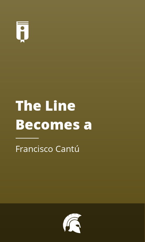 """Book Cover for """"The Line Becomes a River: Dispatches from the Border"""""""