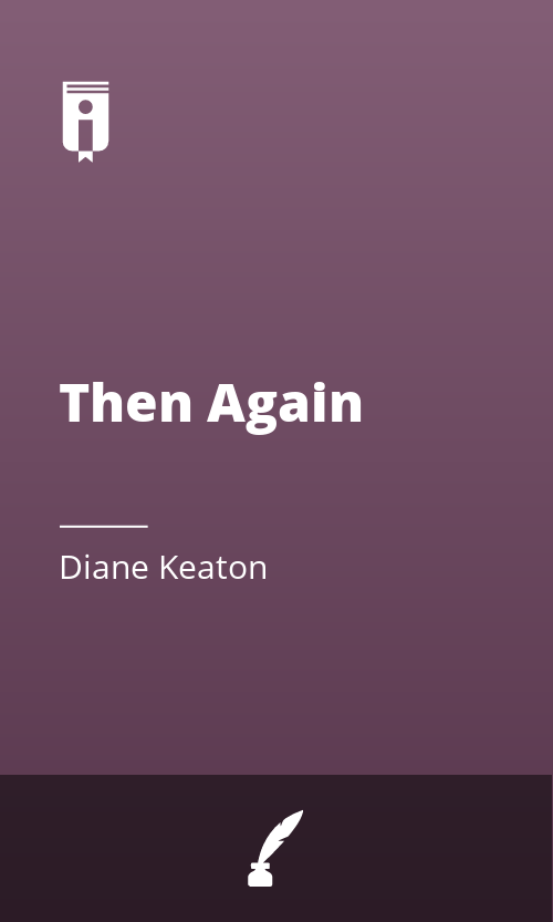 """Book Cover for """"Then Again"""""""