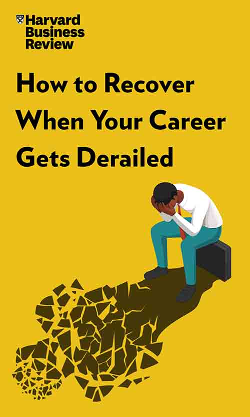 "Book Cover for ""How to Recover When Your Career Gets Derailed"""