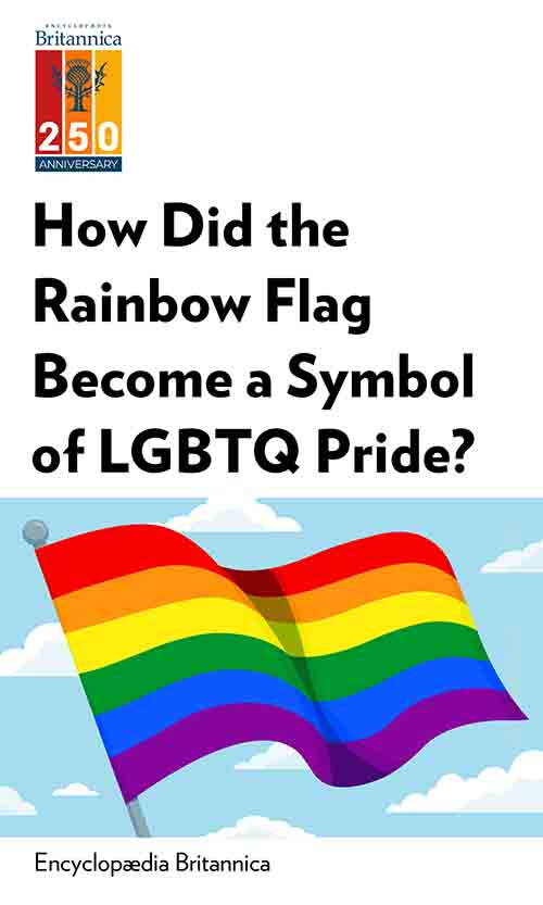"Book Cover for ""How Did the Rainbow Flag Become a Symbol of LGBTQ Pride?"""