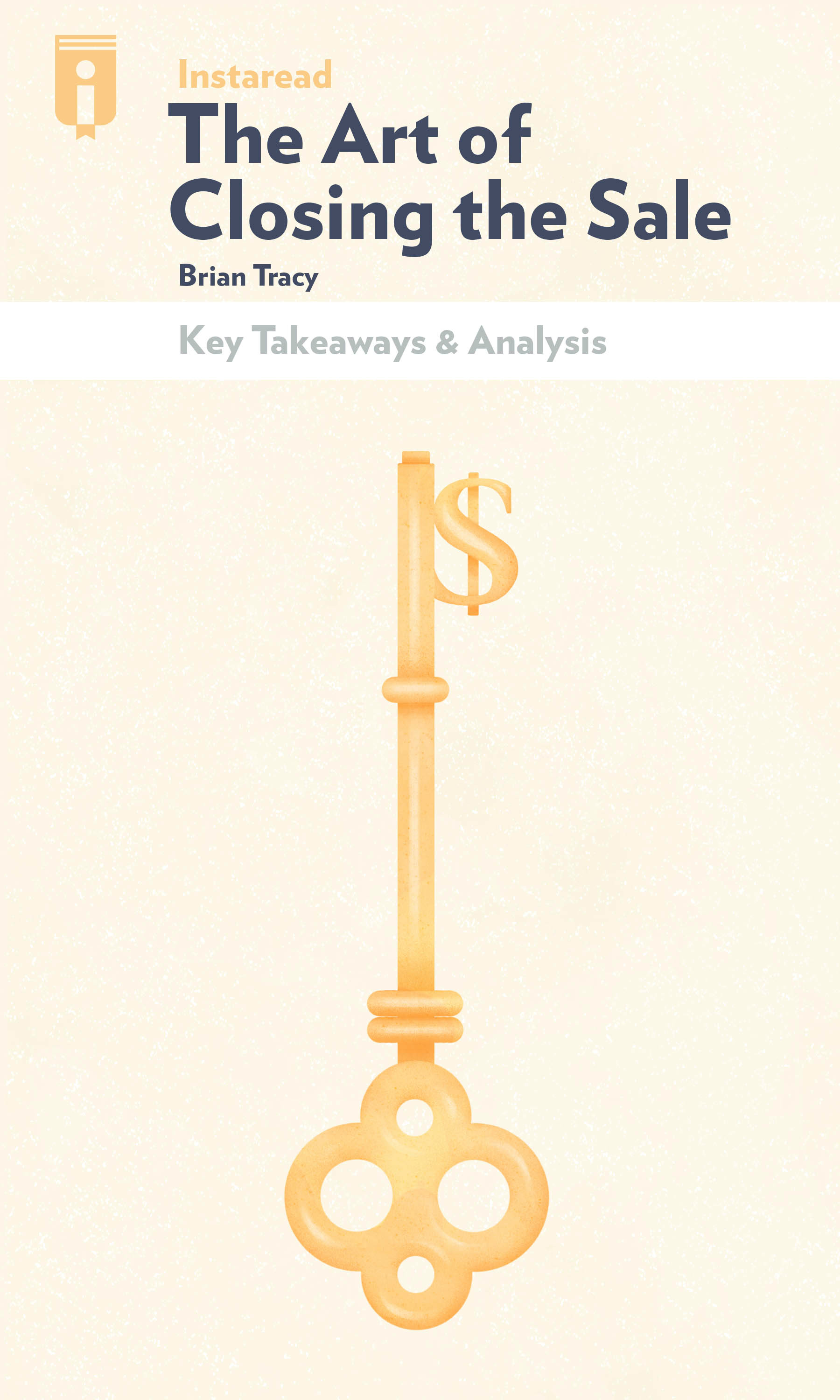 """Book Cover for """"The Art of Closing the Sale"""""""