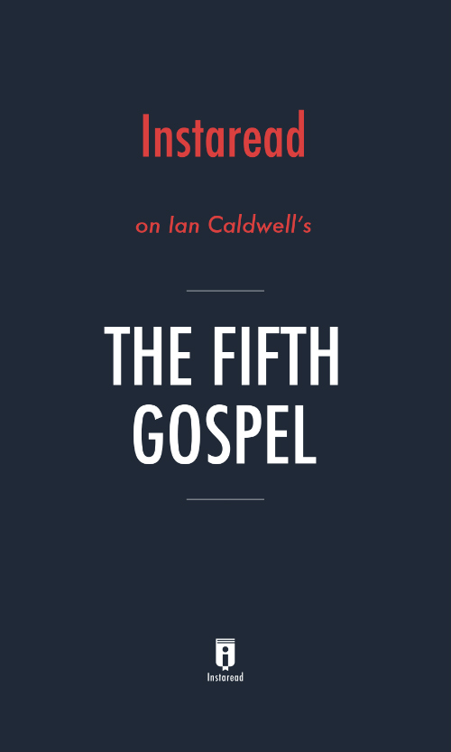 "Book Cover for ""The Fifth Gospel"""
