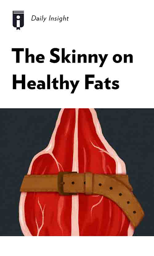 "Book Cover for ""The Skinny on Healthy Fats"""