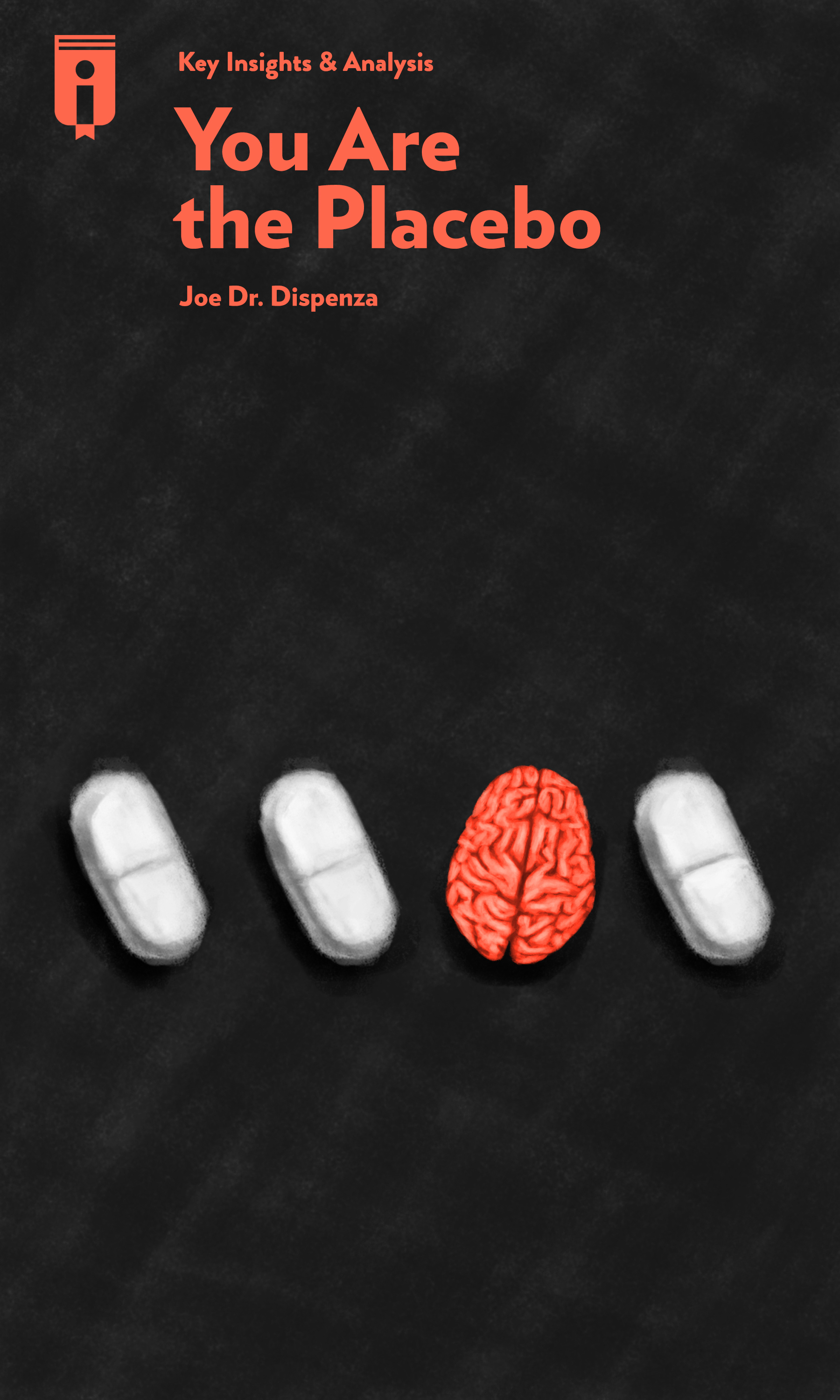 """Book Cover for """"You Are The Placebo"""""""