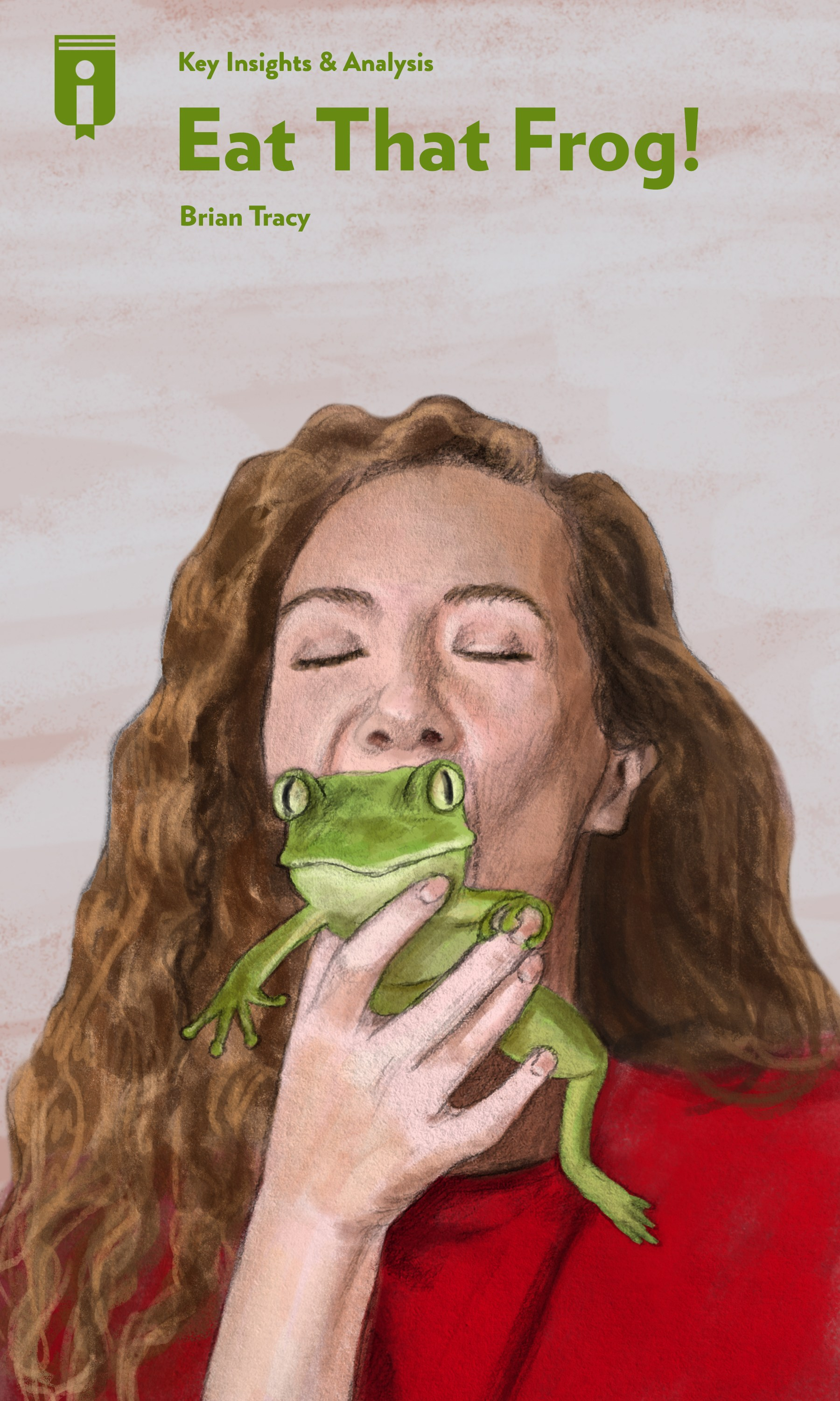 """Book Cover for """"Eat That Frog!"""""""
