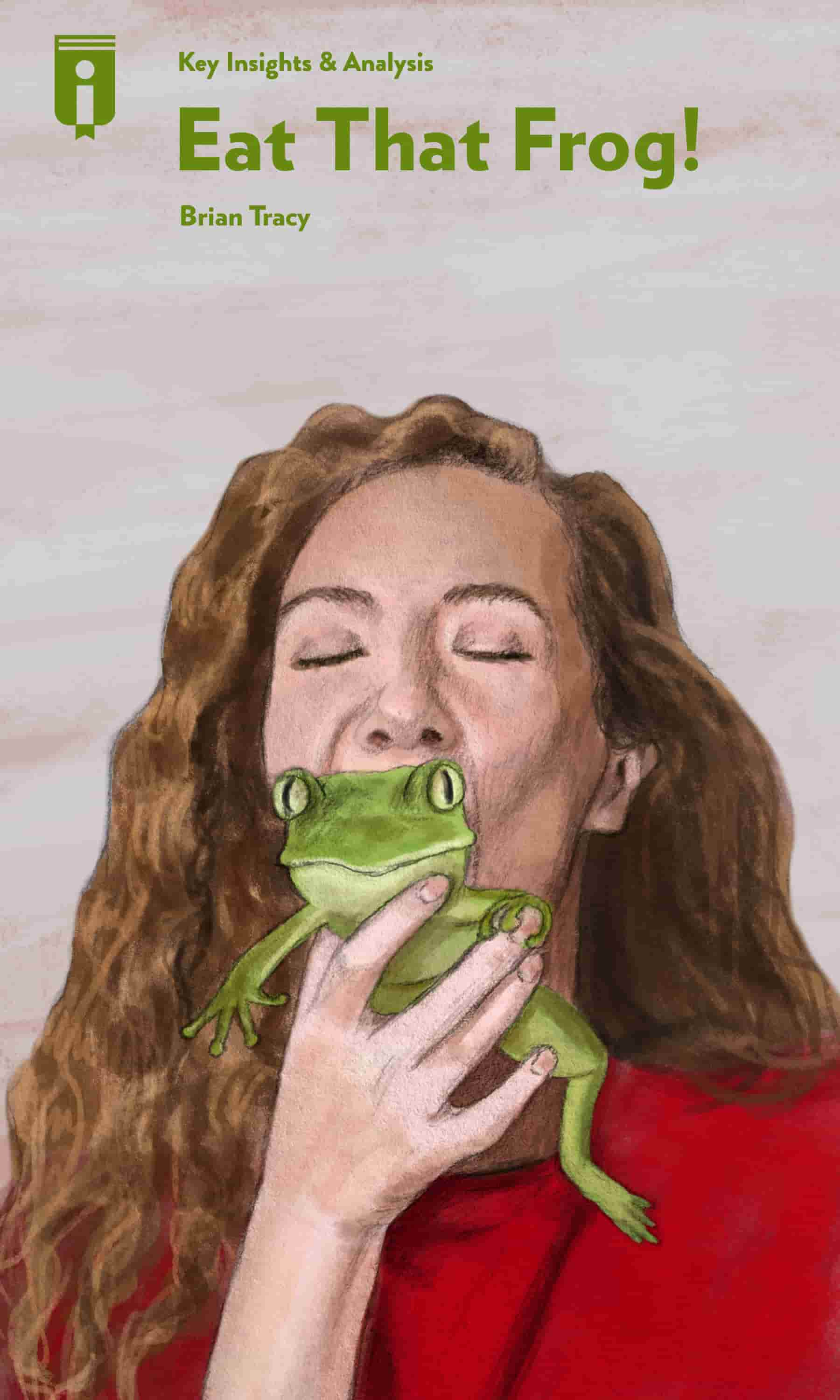 "Book Cover for ""Eat That Frog!"""