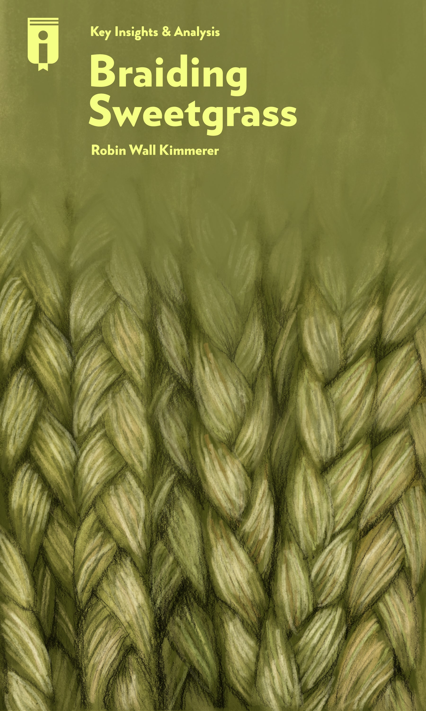 """Book Cover for """"Braiding Sweetgrass"""""""