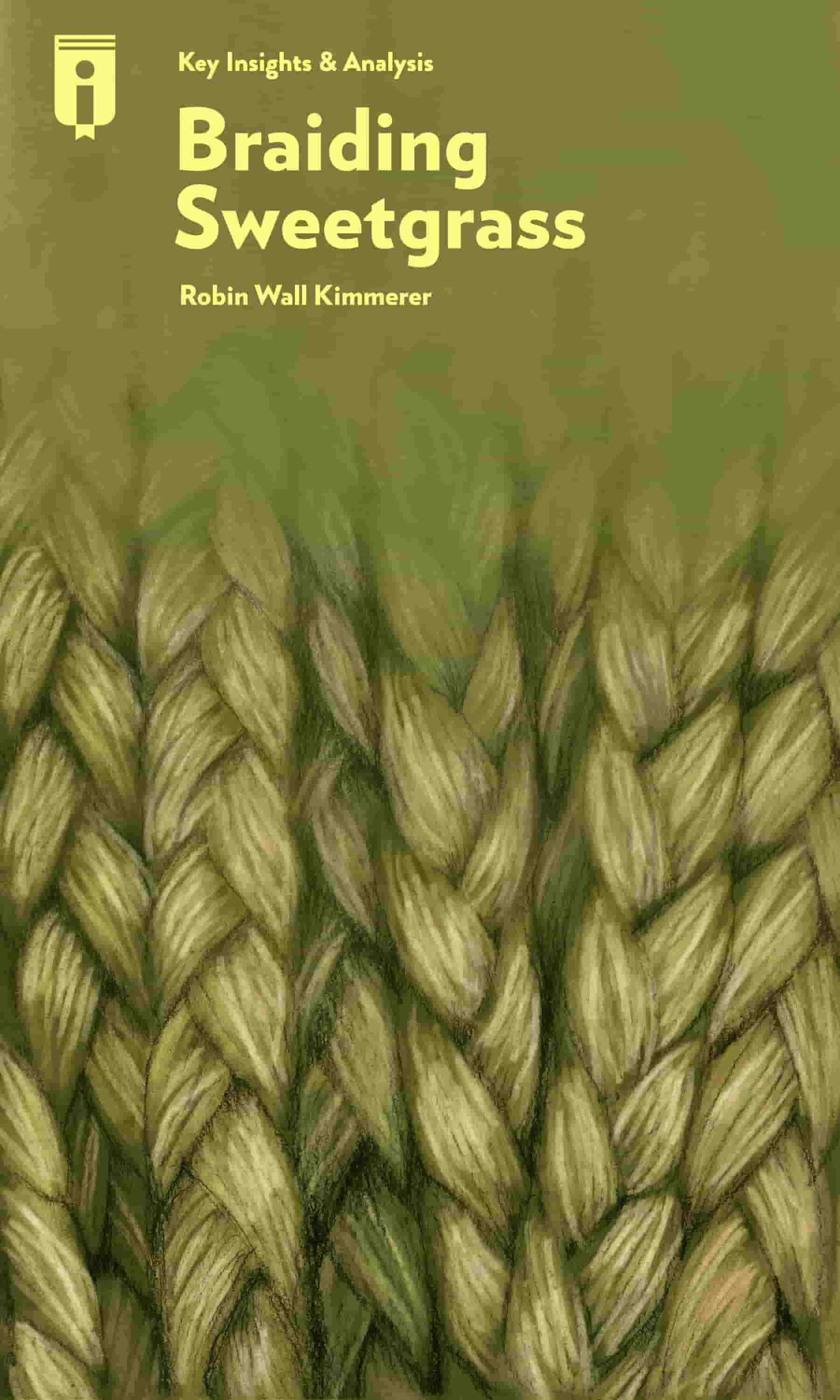 "Book Cover for ""Braiding Sweetgrass"""