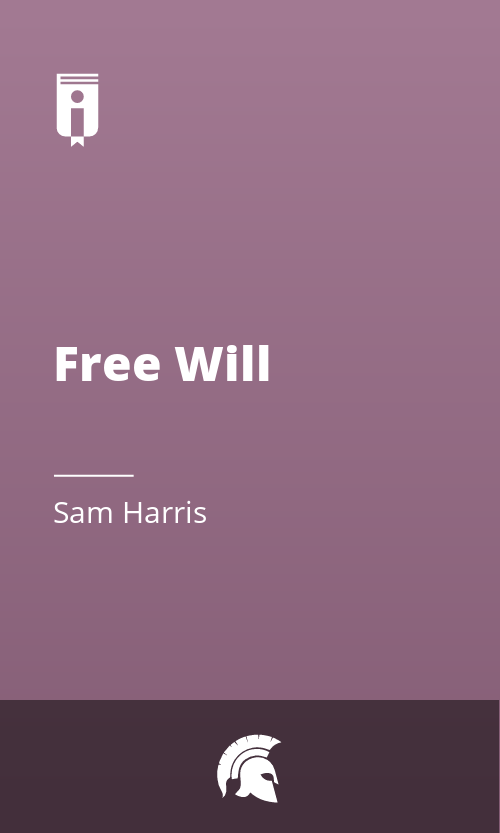 "Book Cover for ""Free Will"""