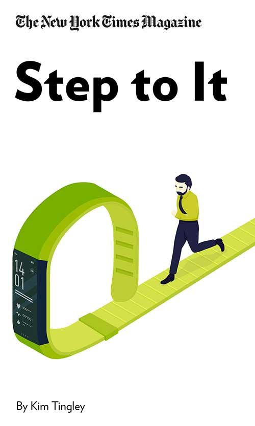 "Book Cover for ""Step to It"""