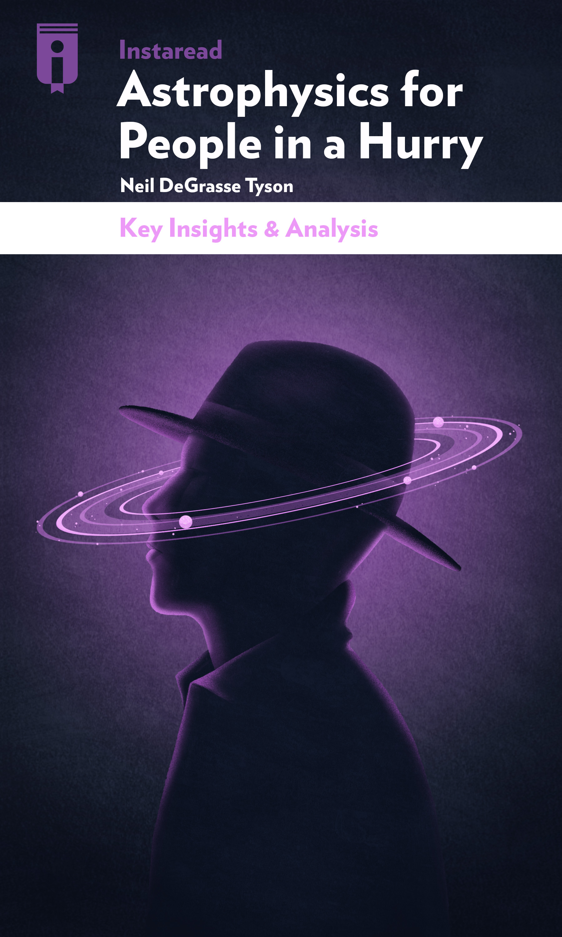 """Book Cover for """"Astrophysics for People in a Hurry"""""""