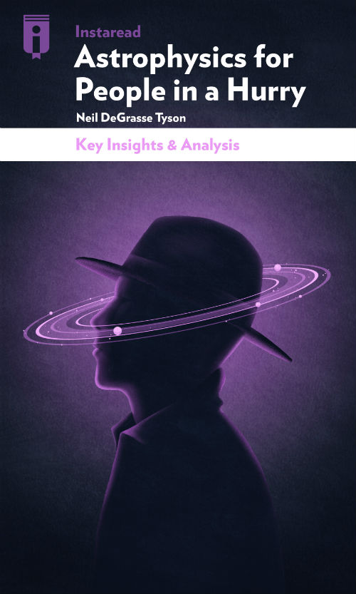 "Book Cover for ""Astrophysics for People in a Hurry"""