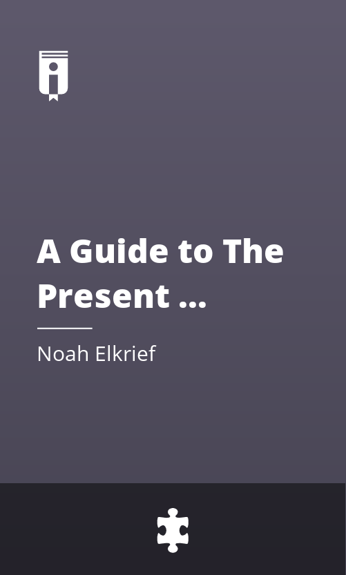"""Book Cover for """"A Guide to The Present Moment"""""""