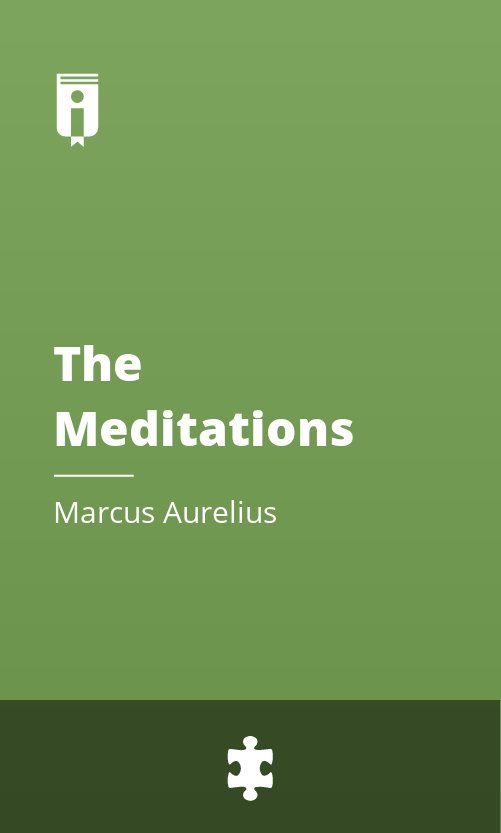 "Book Cover for ""The Meditations"""