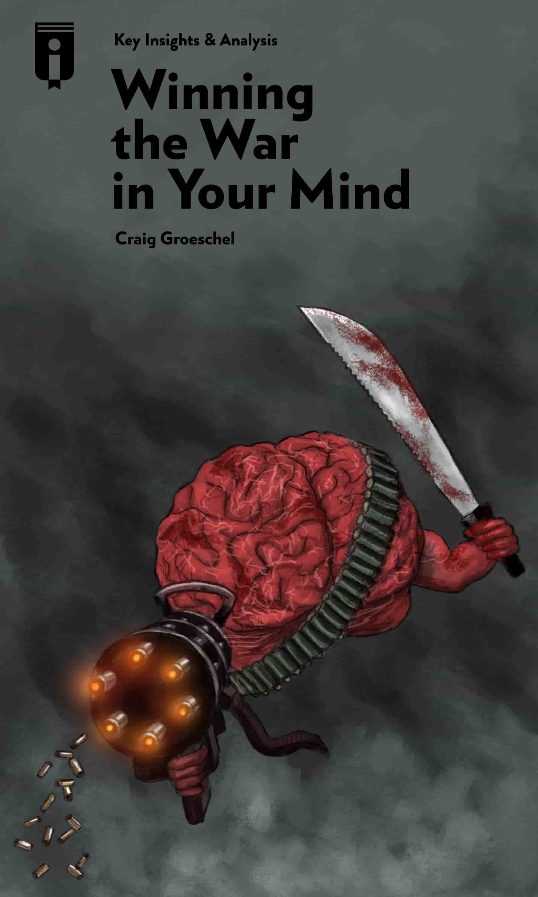 """Book Cover for """"Winning the War in Your Mind"""""""