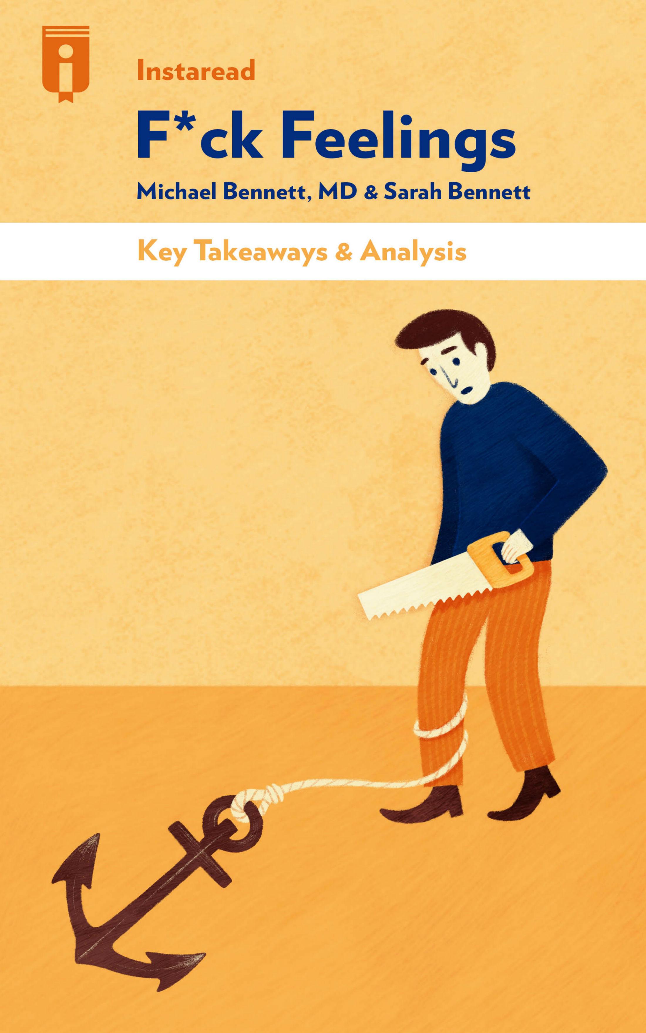 "Book Cover for ""F*ck Feelings"""