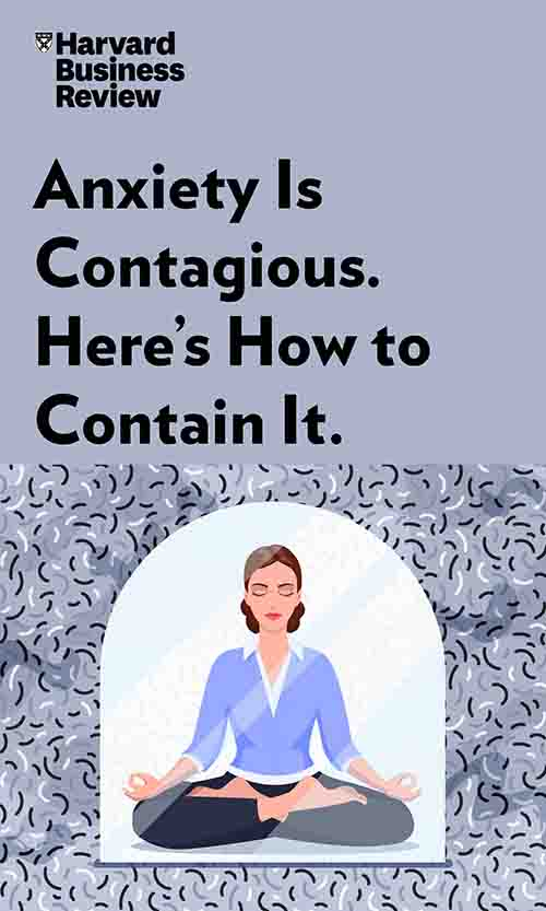 "Book Cover for ""Anxiety is Contagious. Here's How to Contain It."""