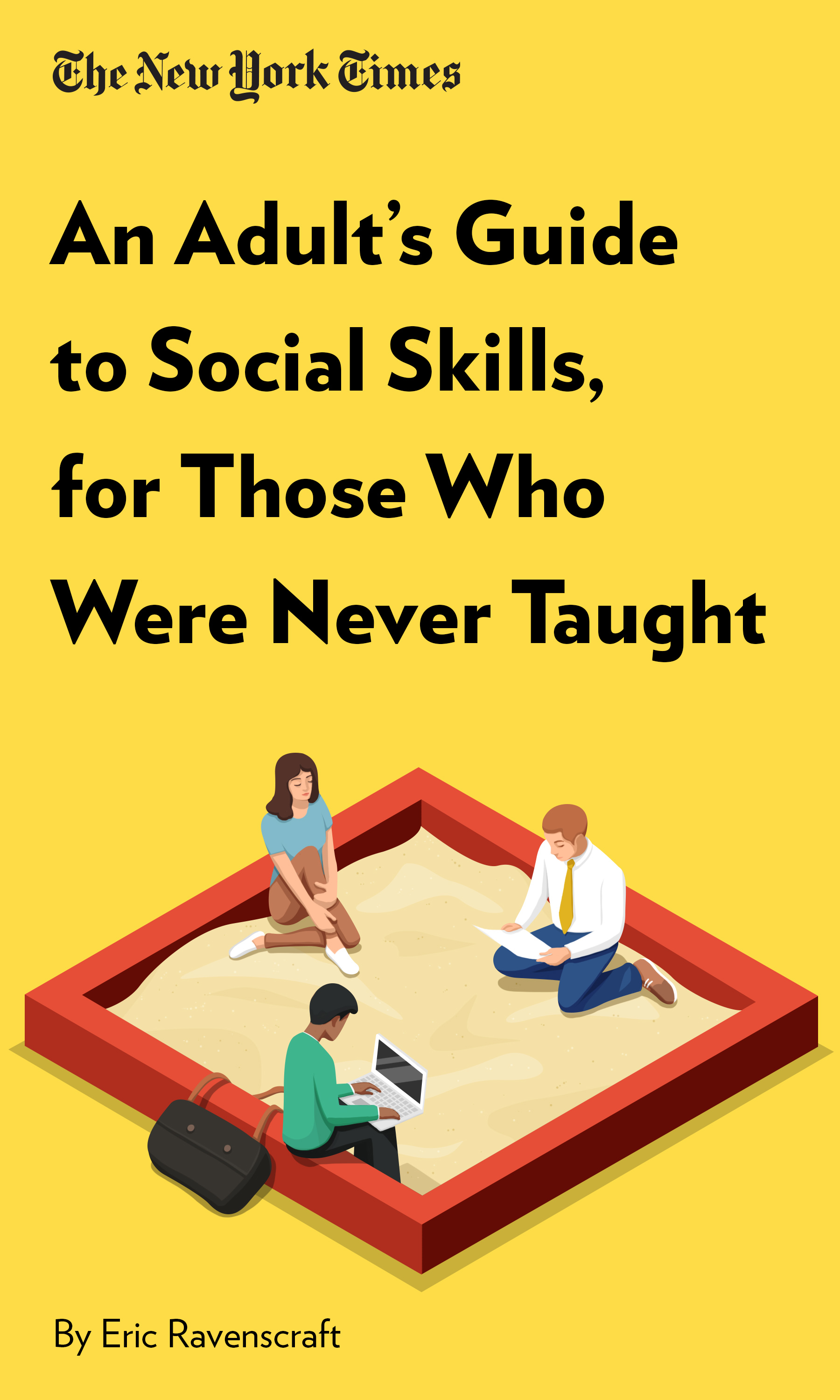"""Book Cover for """"An Adult's Guide to Social Skills, for Those Who Were Never Taught"""""""