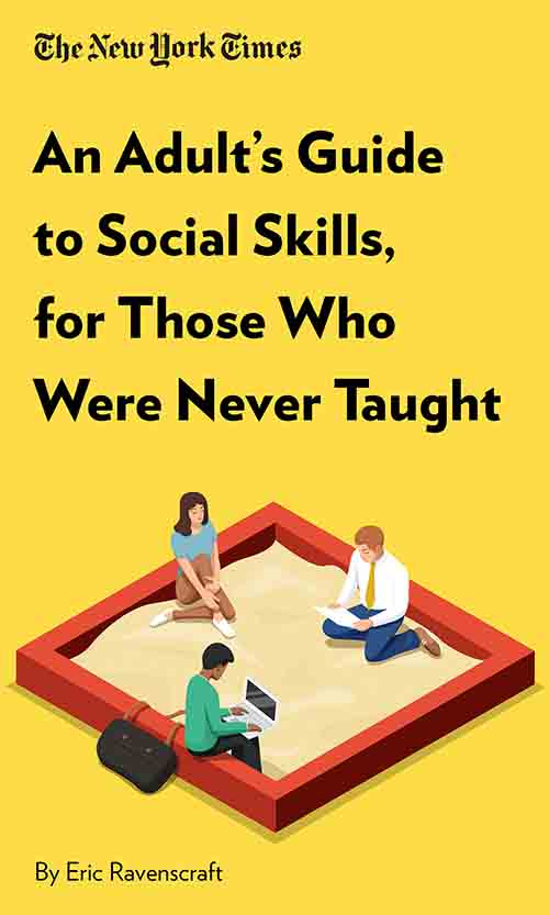 "Book Cover for ""An Adult's Guide to Social Skills, for Those Who Were Never Taught"""