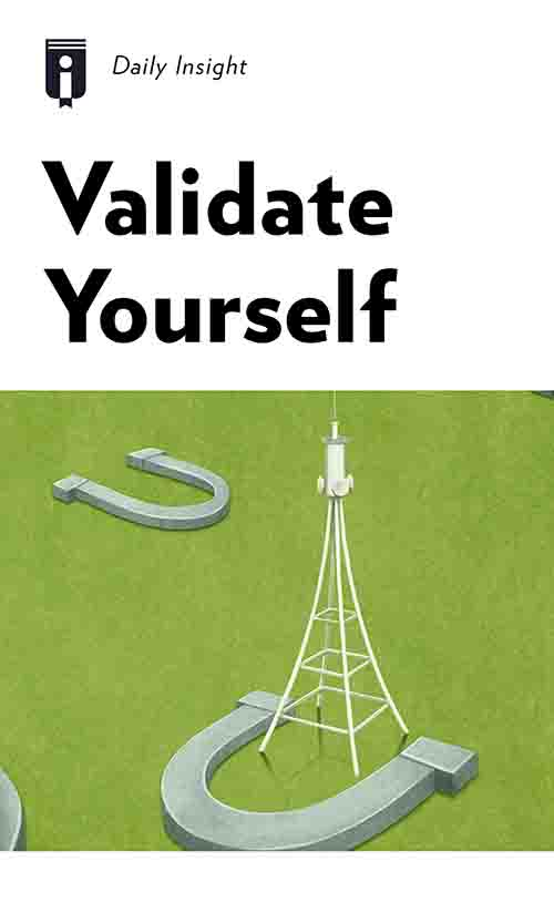 "Book Cover for ""Validate Yourself"""