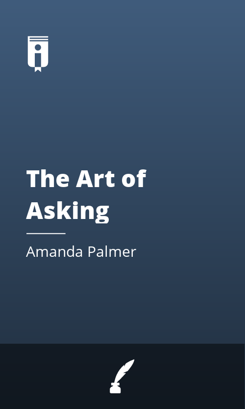 """Book Cover for """"The Art of Asking"""""""
