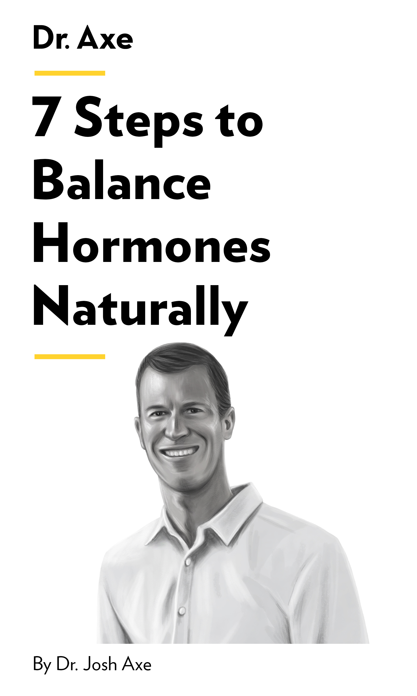 "Book Cover for ""7 Steps to Balance Hormones Naturally"""