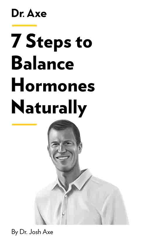 "Book Cover for ""7 Steps to Balance Hormones Naturally"""