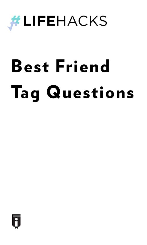 "Book Cover for ""Best Friend Tag Questions"""