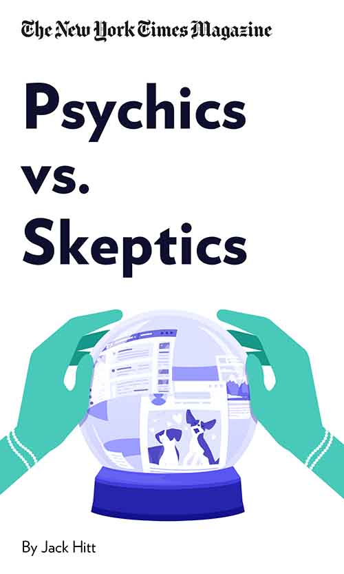 "Book Cover for ""Psychics vs. Skeptics"""