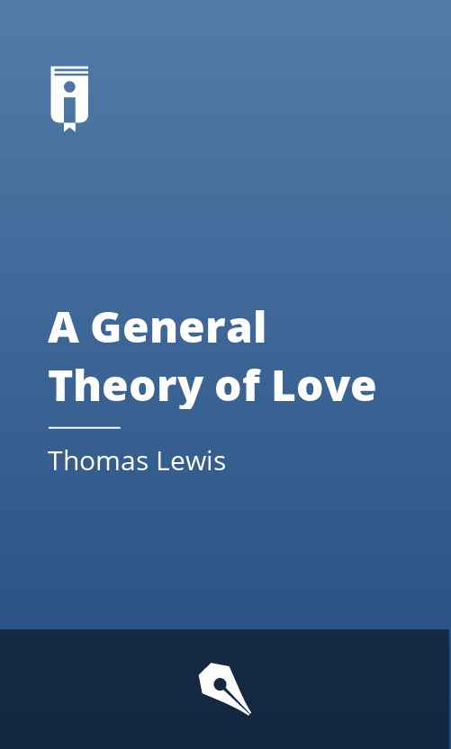 """Book Cover for """"A General Theory of Love"""""""