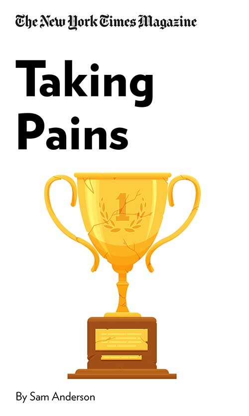 "Book Cover for ""Taking Pains"""