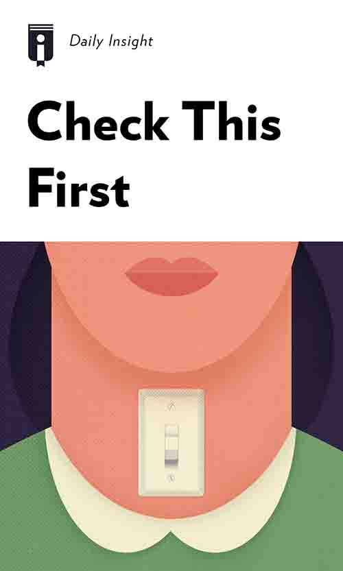 "Book Cover for ""Check This First"""