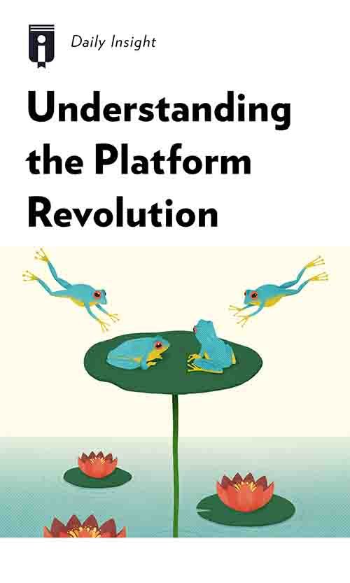 "Book Cover for ""Understanding the Platform Revolution"""