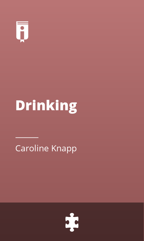 """Book Cover for """"Drinking"""""""