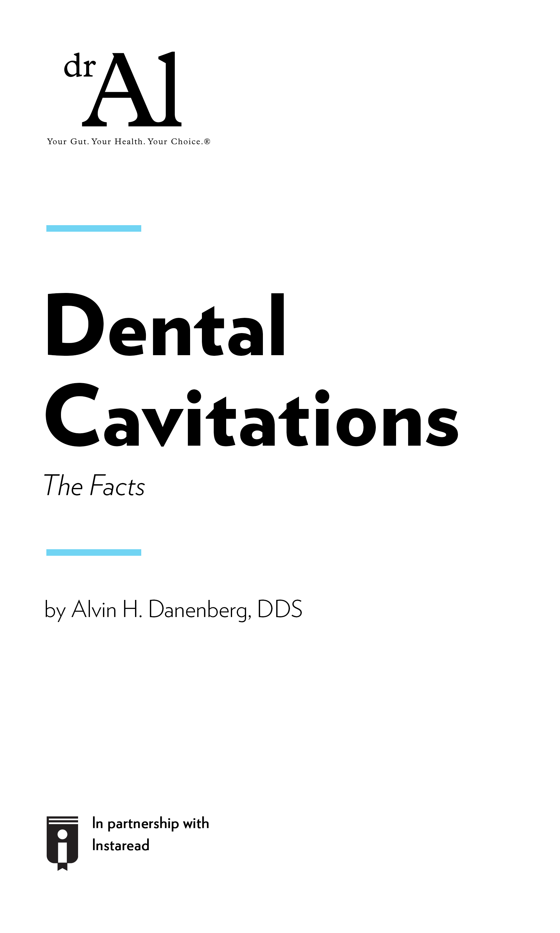 "Book Cover for ""Dental Cavitations – The Facts"""