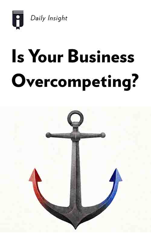 "Book Cover for ""Is Your Business Overcompeting?"""