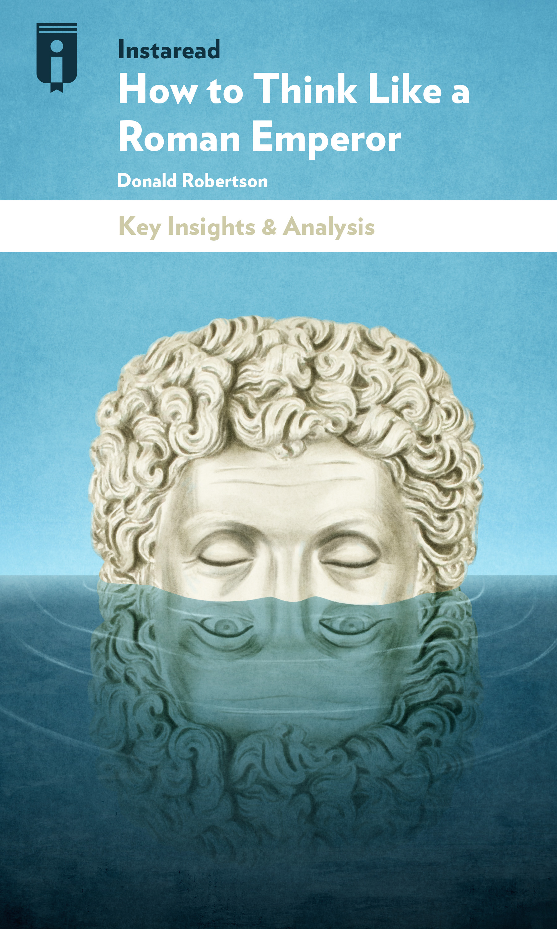 "Book Cover for ""How to Think Like a Roman Emperor"""